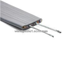 Flat Traveling Cable with Steel Supporting for Elevator (TVVBG)