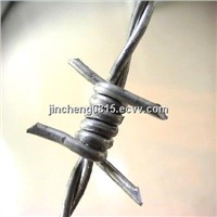 Galvanized Barbed Wire Used For Security Fence