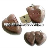 Hot Gifts OEM Chocolate 4GB 2GB 1GB 8GB USB Flash Disk
