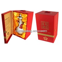 Latest Design Single Leather Wine Box for Spirit