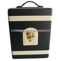 Latest Double Wine Bottles Wine Carrier Box Gift Wine Box
