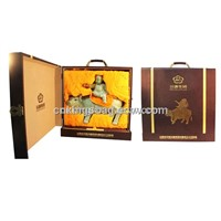 Latest Portable Hand-Held Single Leather Wine Box