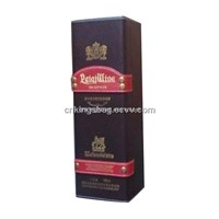 Leather Single Wine Box for Single Wine Bottle, Gift Wine Box
