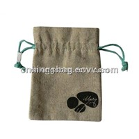 Natural Gift Bag / Eco Drawstring Gift Bag (Jute Gift Bag)