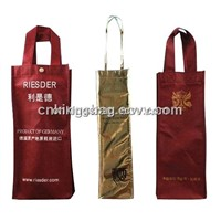 Non Woven Wine Carrier Bag, Wine Gift Bag