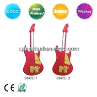 Promotional Gift Violin Shaped USB Pen Drive