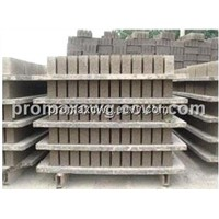 Pvc pallet for brick plant and block making machine