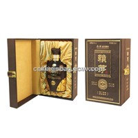 Single Leather Wine Box for Spirit or Liquor