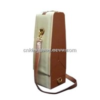 Top Grade Single Wine Bottle Red Wine Carrier Box with Adjustable Strap