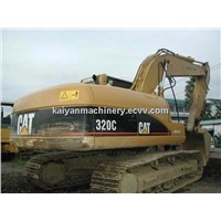Used Caterpillar Crawler Excavator CAT 320C Low Hours Origin Paint Origin Japan