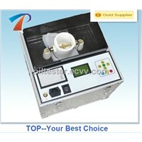100KV Insulating Oil Testing Equipment is Small size, light weight, easy operation,IEC156