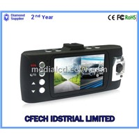 2014 Cheap Dual camera. Full HD, GPS, HDMI function CAR DVR