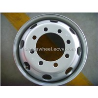 22.5X6.00 tubeless wheel rim for truck