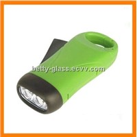 2PCS LED Super Bright Hand-Pressing Flashlight