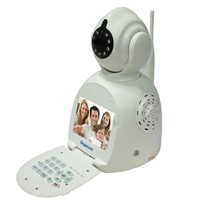 3.5inch HD Display PNP Wireless Video Intercom IP Camera Network Phone Camera
