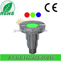 3w RGB LED Recessed Underwater Light, Underwater Lamps