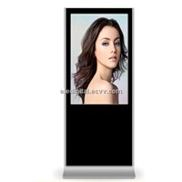 "42"" shop front standing digital lcd advertising vertical totem display"