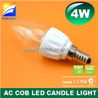4W E14 C35 AC LED Candle Light