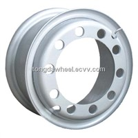 7.50-20 Tube Inner Steel Wheel Durable and Strong for Heavy Duty Truck,Bus and Trailers