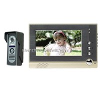 7 inches Color LCD Video Door Phone intercom