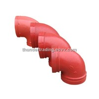 90 Degree Elbow for Fire Pipe,Pipe Fitting,Groove Fitting