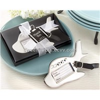 Airplane Luggage Tag in Gift Box with suitcase tag of wedding favors/wedding gifts/party