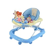 Baby walker with toy