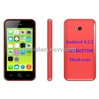 C2 Android smart  phone 4.0 inches MTK6572M Dual-core Android 4.2.2 Dual Sim card Dual standby
