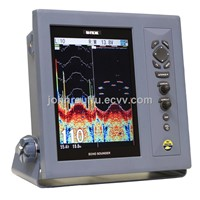 "CVS-1410 Dual Freq 10.4"" color TFT LCD Fishfinder"