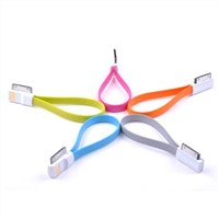 Charging Data Sync Cable, USB TO iOS 4/4S family, Length 225 MM
