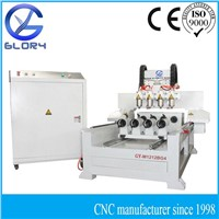 Cylinder Engraving CNC Machine with Four Rotary Axis