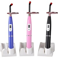 Dental LED Wireless Cordless colorful Curing Light Lamp