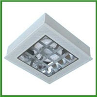 Electrodeless magnetic induction energy saving ceiling light