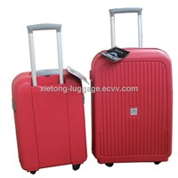 Factory Wholesale Gallo Red PP Injection Trolley Carry-on Hard Case