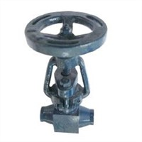 Female thread wedge type gate valve