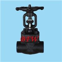 Forge steel gate valve