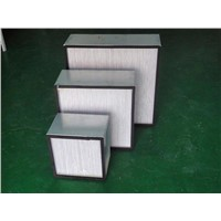 H13 H14 High Efficiency HEPA air filter with separator