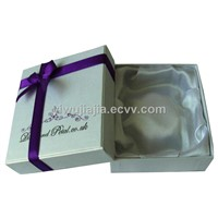 High Quality Paper Bangle Box With Ribbon Bow