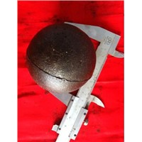 High-medium-low chrome casting ball for sag mill