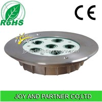 IP68 Single Color 6W LED Underwater Light,Stainless Steel, CE Certificated