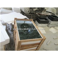 India Green Marble Sink