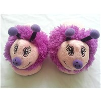 Kids Plush Slippers with Animal Butterfly Styles