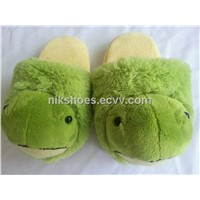 Kids Plush Slippers with Animal Turtle Style