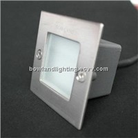 LED wall recessed light, step light, stair light, used in outdoor, IP54 BLT2001