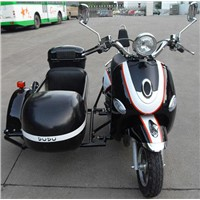 Mini Electric Motorcycle with Sidecar