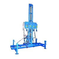 Multifunctional Four-hammer Rock Driller for Mine Quarrying