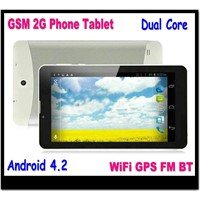 Nice Cheapest Android 4.2 3G tablet pc WiFi GPS FM blutooth dual sim card phone call tablet