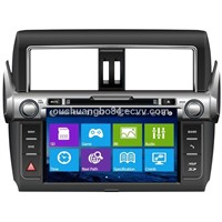 Ouchuangbo LCD USB car mp3 mp4 player bluetooth for Toyota Prado 2014