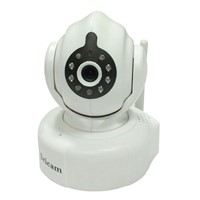 P2P 720P High Definition Pan Tilt Night Vision Indoor Wireless IP Security Kamera