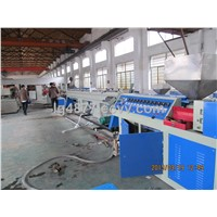 HDPE pipe manufacturing machine